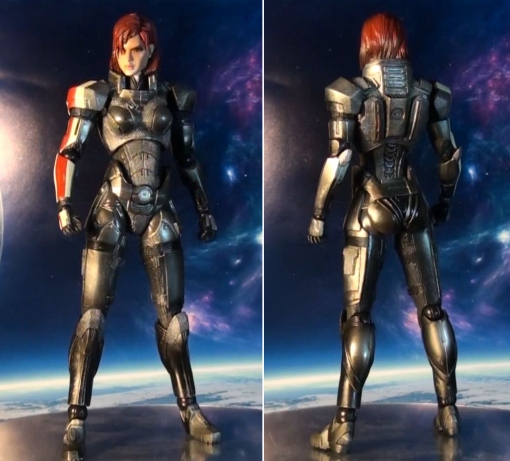 Square Enix Play Arts Kai Mass Effect 3 Female Commander Shepard 8