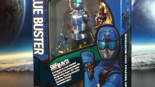Bandai S.H.Figuarts Blue Buster 01