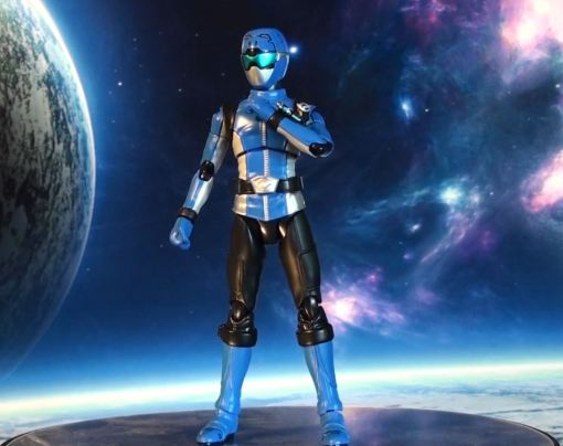 Bandai S.H.Figuarts Blue Buster 02