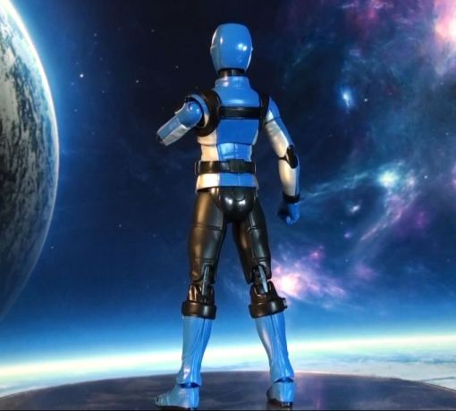 Bandai S.H.Figuarts Blue Buster 03