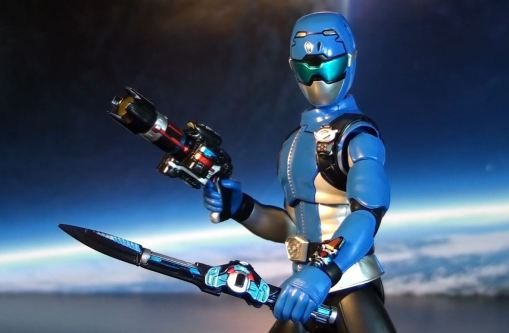Bandai S.H.Figuarts Blue Buster 07