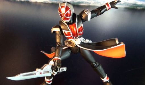 Bandai S.H. Figuarts Kamen Rider Wizard Flame Style 06