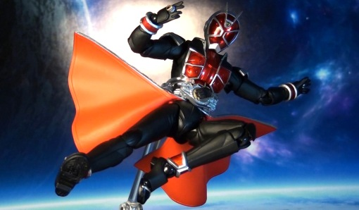 Bandai S.H. Figuarts Kamen Rider Wizard Flame Style 07