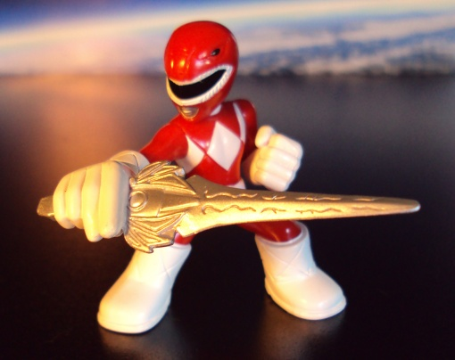 Battle Ready Mini MMPR RED Ranger 01
