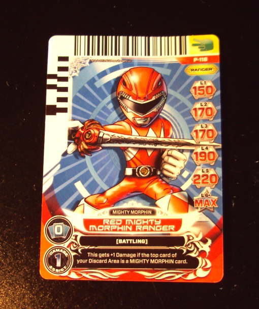 Battle Ready Mini MMPR RED Ranger 04