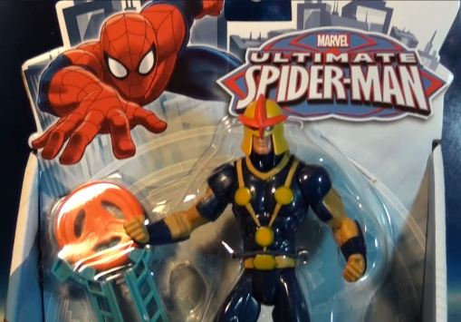 "Hasbro Ultimate Spider-man 6"" series Human Rocket Nova 0"