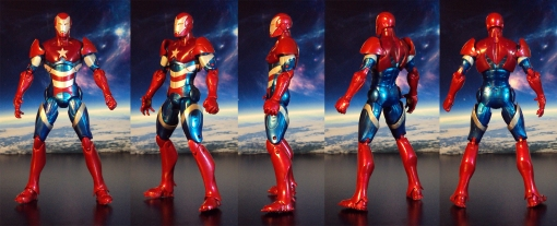 Hasbro Marvel Legends Iron Patriot 01