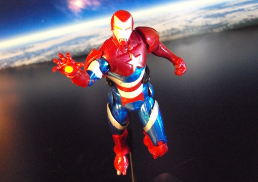 Hasbro Marvel Legends Iron Patriot 06