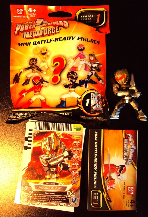 Power Ranger Mega Force Battle Ready Mini Figures Robo Knight