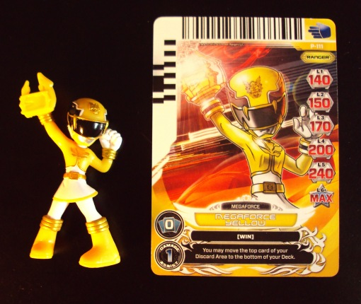 Power Rangers Megaforce Yellow Ranger Battle Ready Mini Figure 01