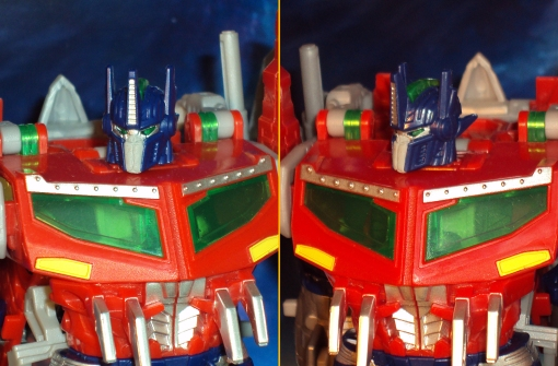 Beast Hunters Voyager Optimus Prime Face Plate 02