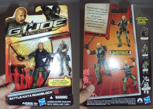 Hasbro G.I. Joe Retaliation Battle-Kata Roadblock