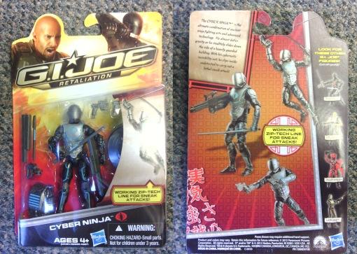 Hasbro G.I. Joe Retaliation Cyber Ninja
