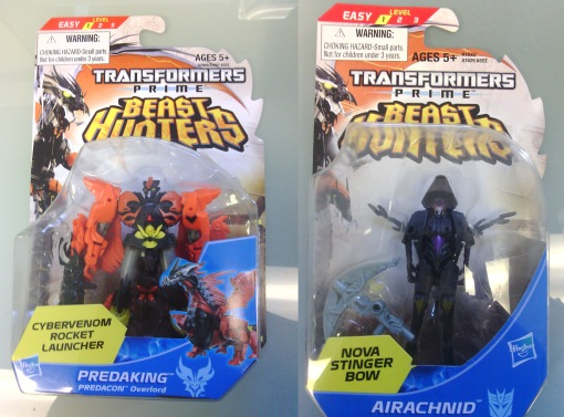 Hasbro Transformers Prime Beast Hunters Predaking  Airahnid