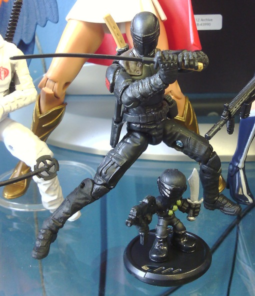 G.I. Joe Micro Force vs Retaliation Movie Snake Eyes
