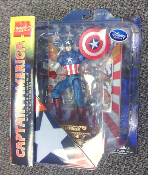 Marvel Select Captain America