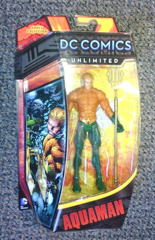 Mattel DC Unlimited Aquaman New 52