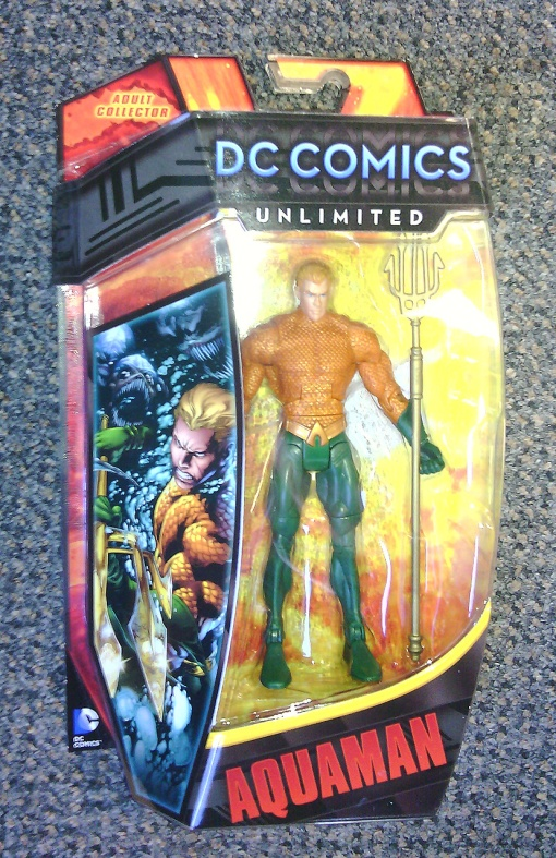 Mattel DC Unlimited Aquaman New 52