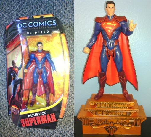 Mattel DC Unlimited Regmine Superman