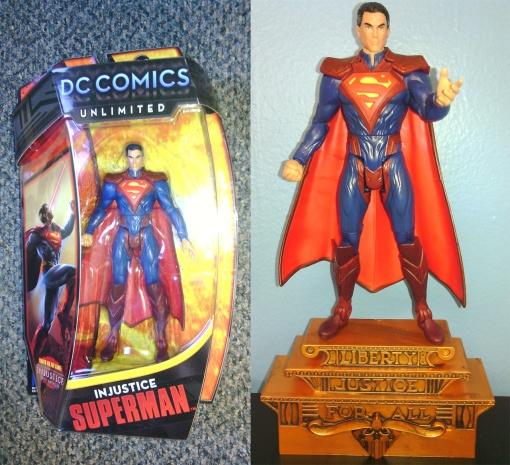 Mattel DC Unlimited Regmine Superman