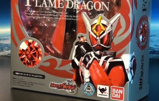 Bandai S.H.Figuarts Kamen Rider Wizard Flame Dragon 01