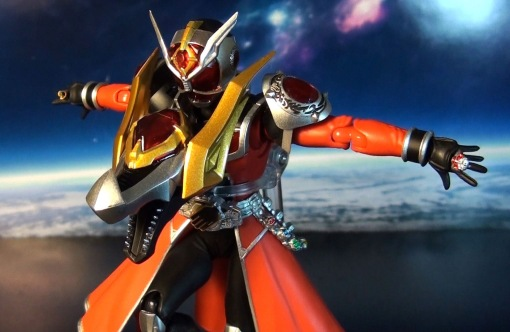 Bandai S.H.Figuarts Kamen Rider Wizard Flame Dragon 05