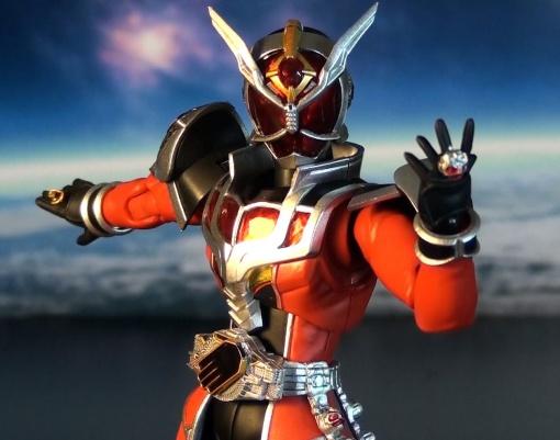 Bandai S.H.Figuarts Kamen Rider Wizard Flame Dragon 06