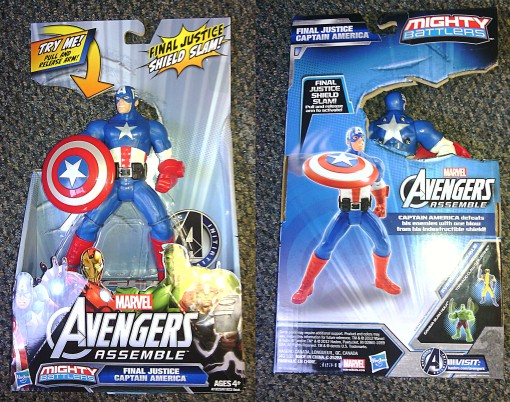 Hasbro Avengers Assemble Mighty Battlers Captain America 01