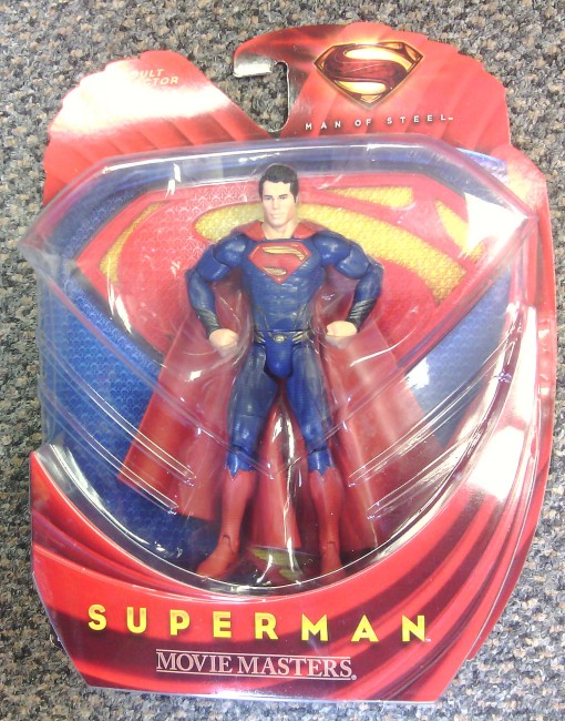 Mattel Man of Steel Movie Master Superman 01