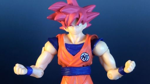 Bandai Shodo Series Dragon Ball Z Super Saiyan God Son Gokou 03