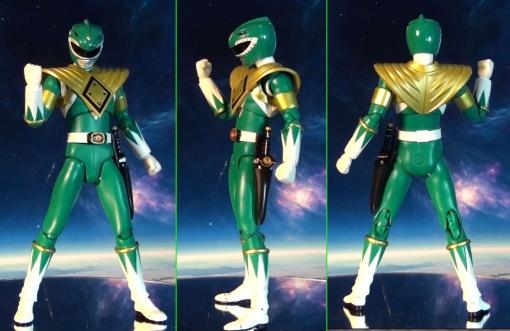 Bandai S.H. Figuarts Zyuranger Dragon Ranger MMPR Green Ranger 02