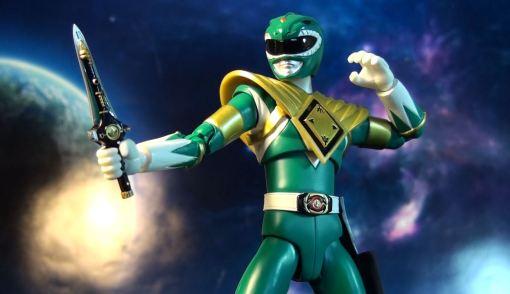 Bandai S.H. Figuarts Zyuranger Dragon Ranger MMPR Green Ranger 03