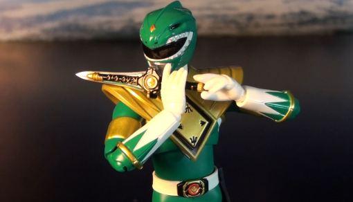 Bandai S.H. Figuarts Zyuranger Dragon Ranger MMPR Green Ranger 04