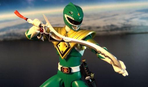 Bandai S.H. Figuarts Zyuranger Dragon Ranger MMPR Green Ranger 05