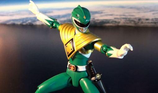Bandai S.H. Figuarts Zyuranger Dragon Ranger MMPR Green Ranger 06