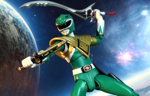 Bandai S.H. Figuarts Zyuranger Dragon Ranger MMPR Green Ranger 08