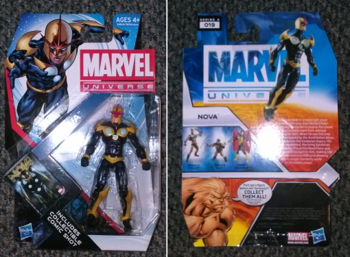 Hasbro Marvel Universe Nova action figure