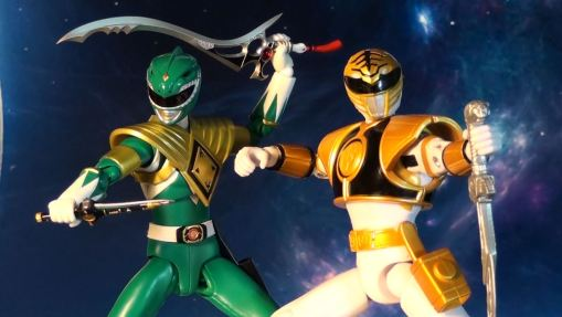 Bandai S.H. Figuarts Dragon Green Ranger vs Super Legends White Ranger 02