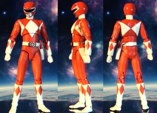 Bandai S.H. Figuarts Mighty Morphin Power Rangers Red Ranger 02