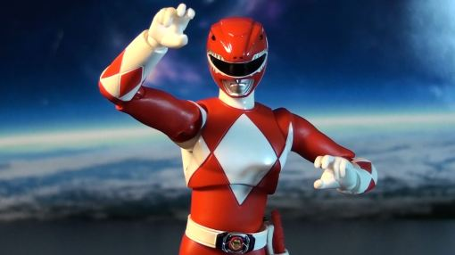 Bandai S.H. Figuarts Mighty Morphin Power Rangers Red Ranger 03