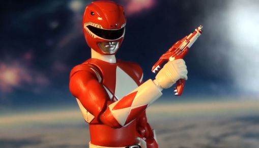 Bandai S.H. Figuarts Mighty Morphin Power Rangers Red Ranger 05