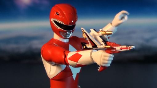Bandai S.H. Figuarts Mighty Morphin Power Rangers Red Ranger 08