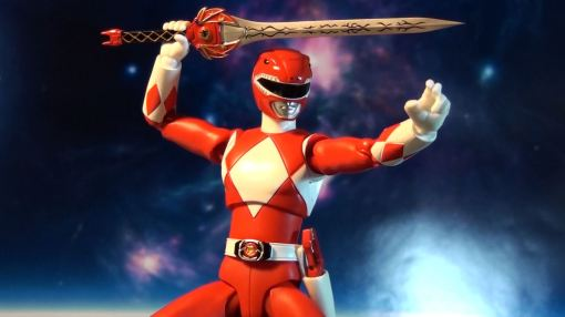 Bandai S.H. Figuarts Mighty Morphin Power Rangers Red Ranger 09