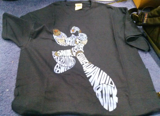 Mega Man X T-Shirt (X Word Silhouette)