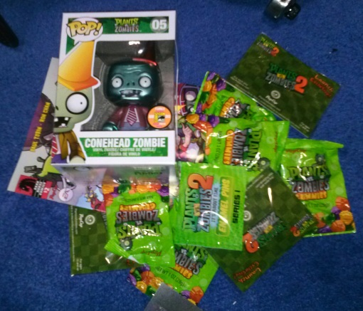 SDCC Exclusive Plants vs Zombies