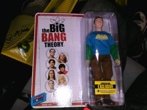 SDCC Entertainment Earth Big Bang Theory Sheldon Action Figure
