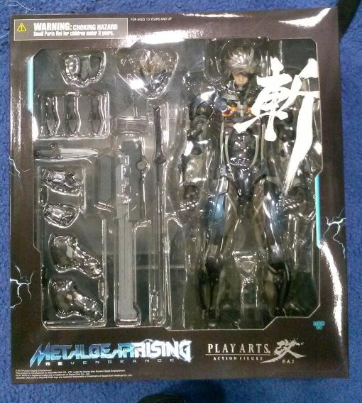 Sqaure Enix Play Arts Kai Metal Gear Rising Raiden