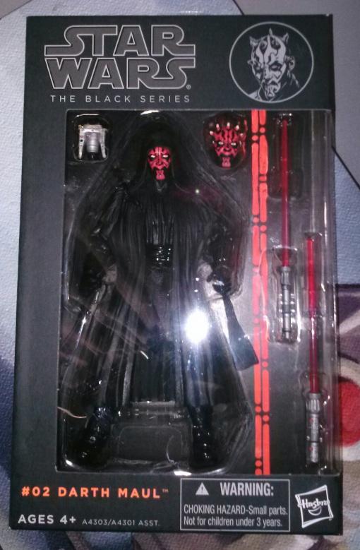 "Hasbro Star Wars Black Series 1 Darth Maul 6"" Action Figure"
