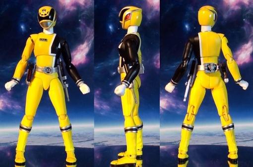 Bandai S.H. Figuarts Dekaranger Deka Yellow 02