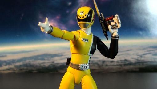 Bandai S.H. Figuarts Dekaranger Deka Yellow 05